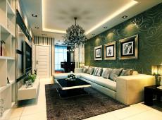 最美年华93㎡现代简约三居室7万