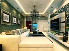 最美年华111㎡现代简约三居室7万